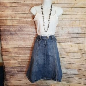 Candies flair denim skirt